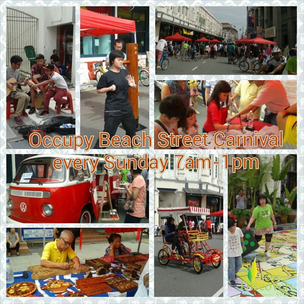 Occupy Beach Street     (RECURRING every Sunday)