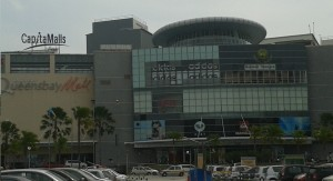 Queensbay Mall Main Entrance